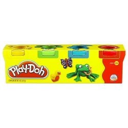 Plastilina Play Doh mini X4...