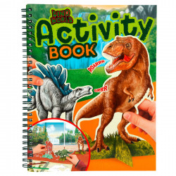 Dino world activity book...
