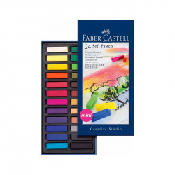 Tiza pastel Faber Castell x 24