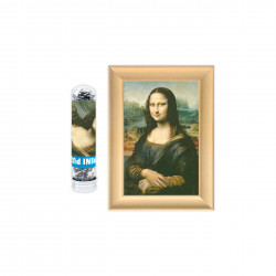 Mini rompecabezas Mona Lisa...