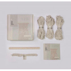 Kit Tapiz Pared Macramé