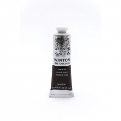 Óleo Winsor Lamp Black 37 ml
