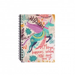 Cuaderno Tinta Negra Magic...